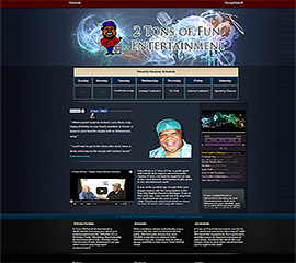 screen shot of 2tonslasvegas.com