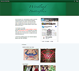 screen shot of WoodlandButterflies.com